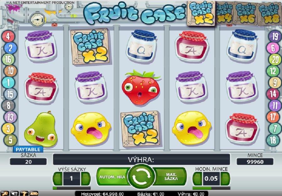 Automatová hra Fruit Case
