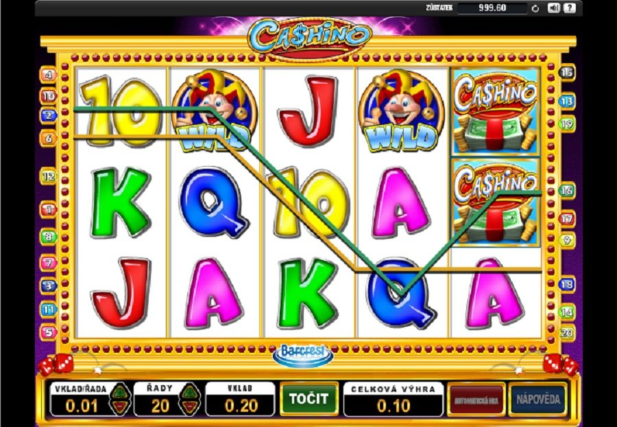 Automatové Hry Cashino