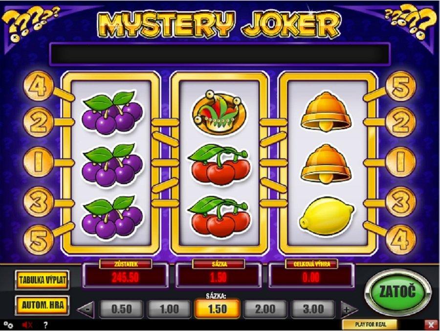 Hrací automaty Mystery Joker