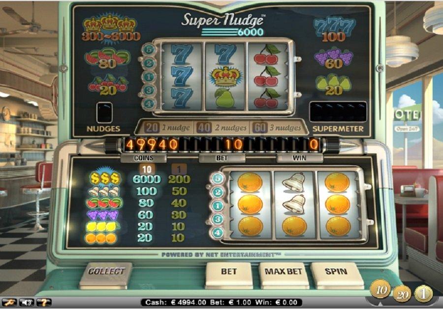 Hrací automaty Super Nudge 6000