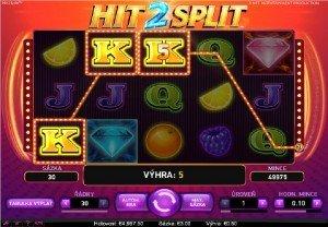 Výherní automaty Hit 2 Split