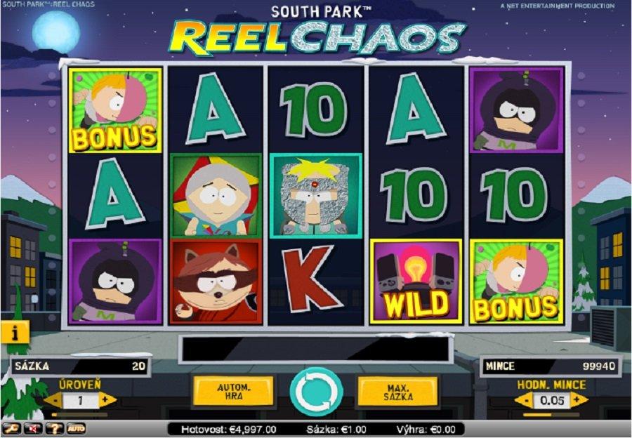 Výherní automaty South Park Reel Chaos
