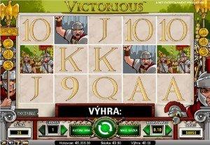 Výherní automaty Victorious