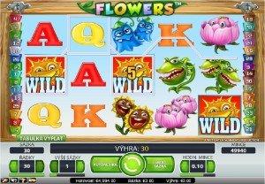 Výherní hrací automaty Flowers