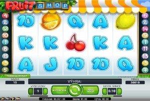 Výherní hrací automaty Fruit Shop