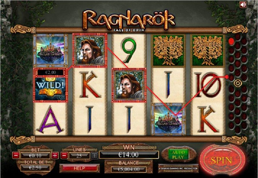 Výherní hrací automaty Ragnarok