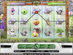 Geishas Wonders Spilleautomtater