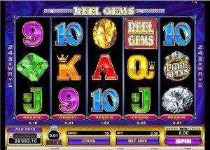 Hrací automat Reel Gems