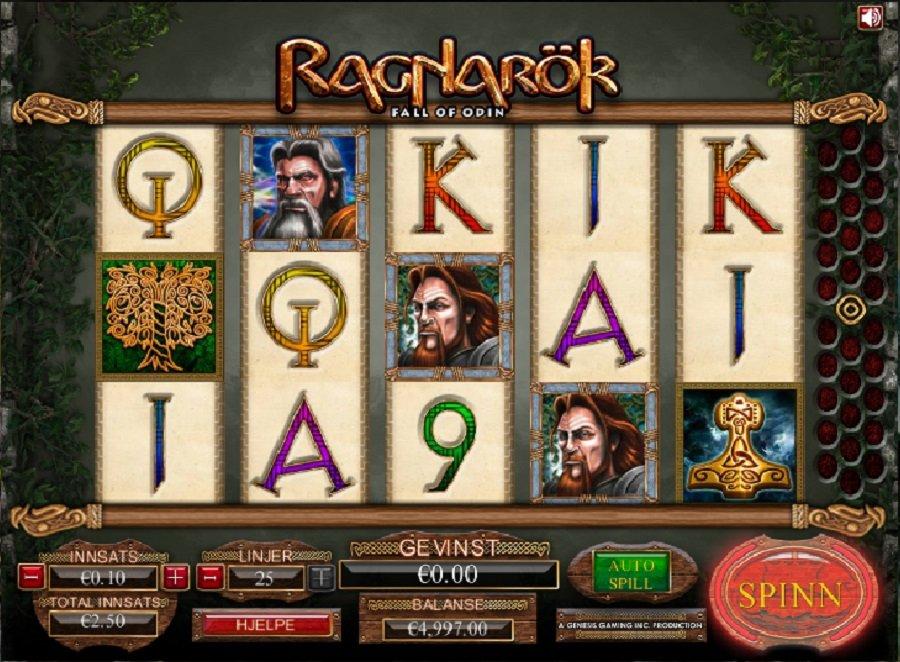 Norske Spilleautomater Ragnarok
