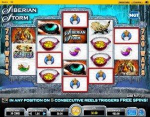 Spilleautomaten Siberian Storm