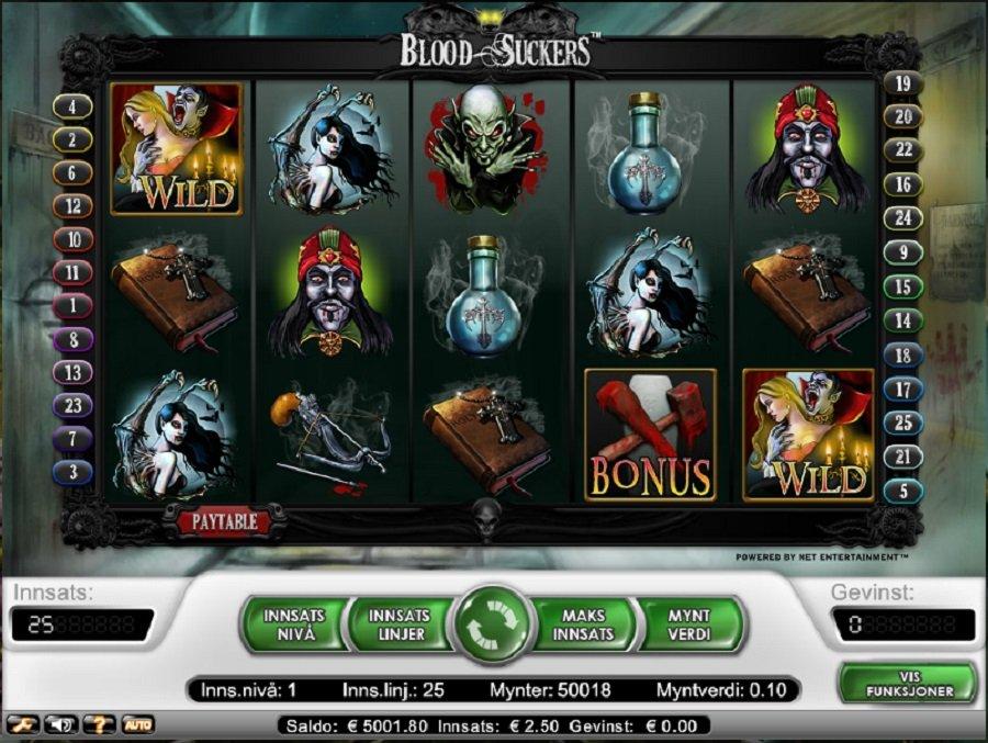 Spilleautomater Bloodsuckers