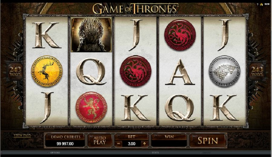 Spilleautomater Game of Thrones