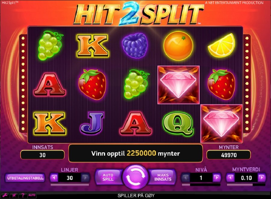 Spilleautomater Hit 2 Split