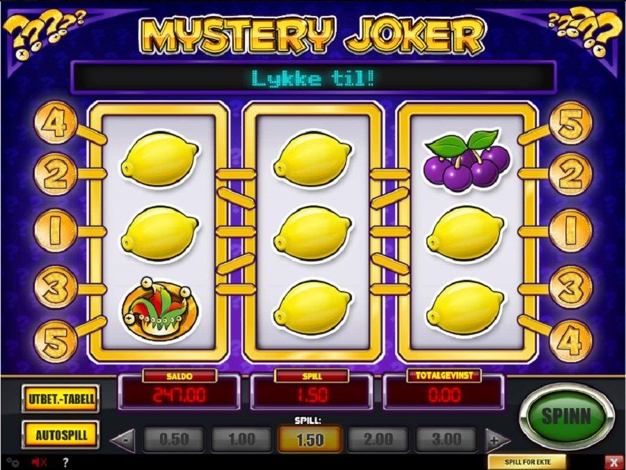 Spilleautomater Mystery Joker