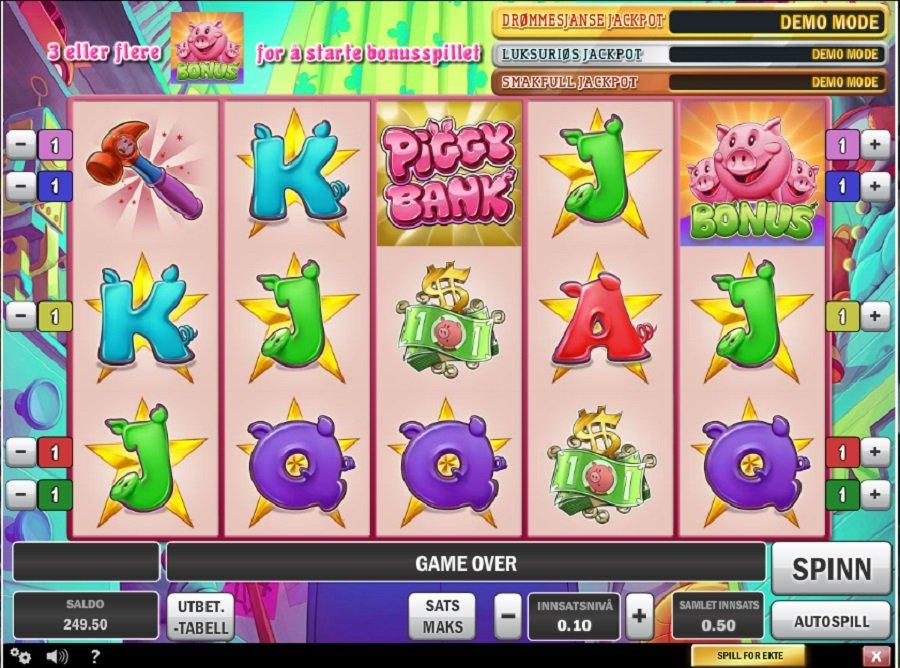 Spilleautomater Piggy Bank