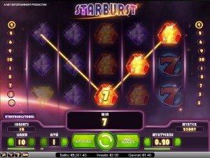 Spilleautomater Starburst