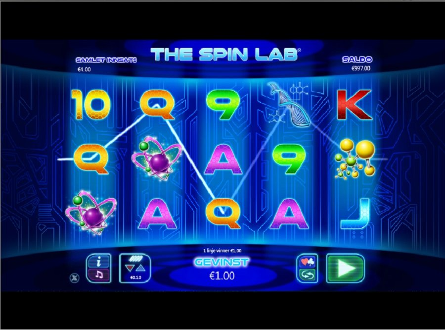 spilleautomater The Spin Lab
