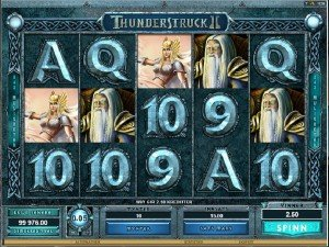 Spilleautomater Thunderstruck 2