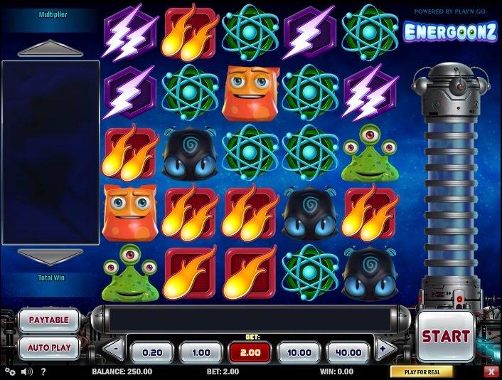 Výherní automaty Energoonz