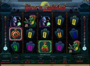 Hrací automat Alaxe in Zombieland