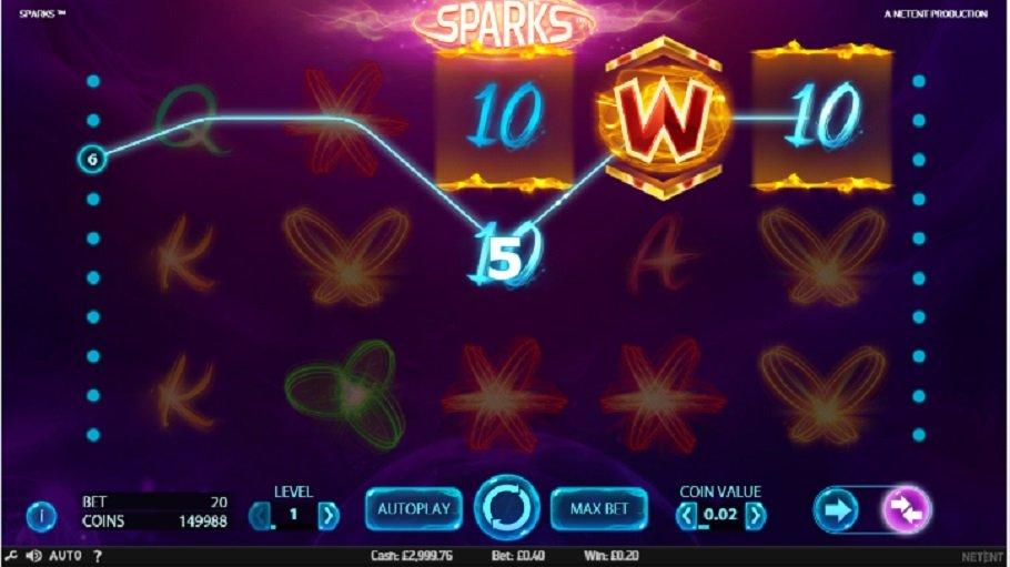 Hrací automaty Sparks