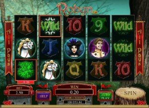 Slotspill Robyn