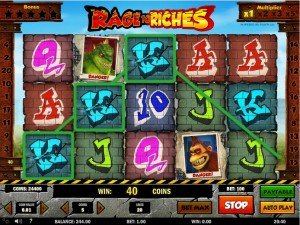 Spilleautomater Rage to Riches