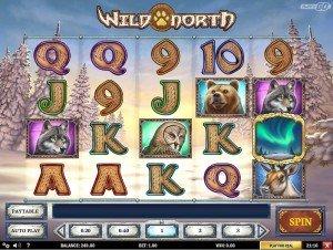 Spilleautomaten Wild North