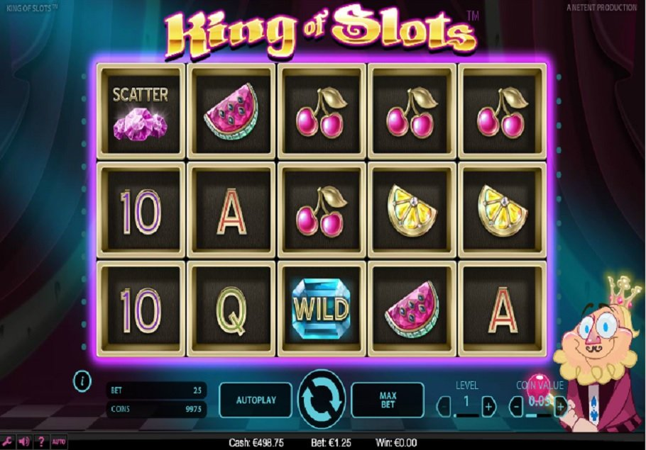 Výherní automat King of Slots