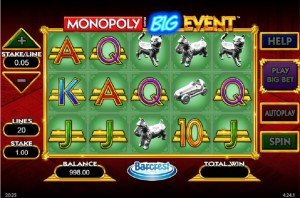 Monopoly Big Event Norgesautomaten
