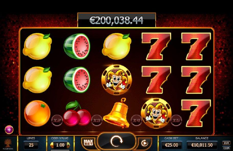 Joker Millions výherní automat
