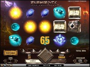 Hrací automaty Elements zdarma