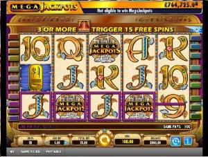 Hrací automaty Mega Jackpot Cleopatra zdarma