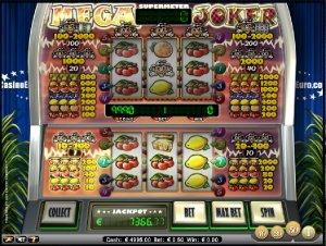 Hrací automaty Mega Joker zdarma