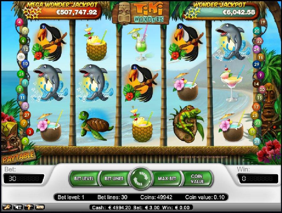 Hrací automaty Tiki Wonders zdarma
