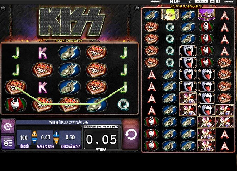 Hrací automaty Kiss
