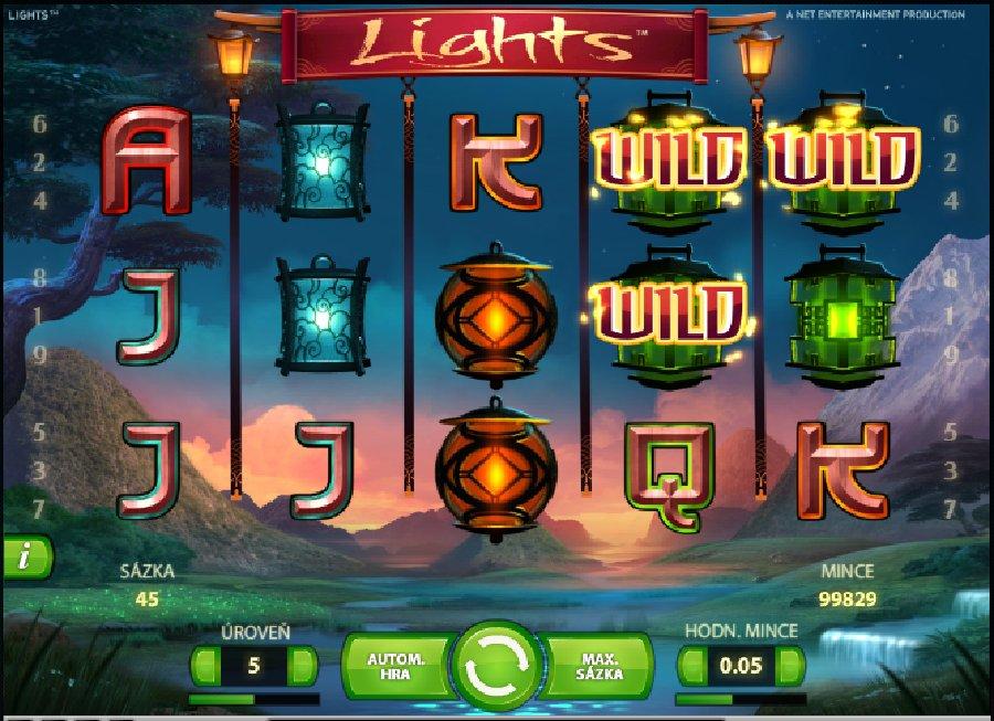 Výherní automaty Lights