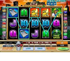 Hrací automaty Money mad Monkey