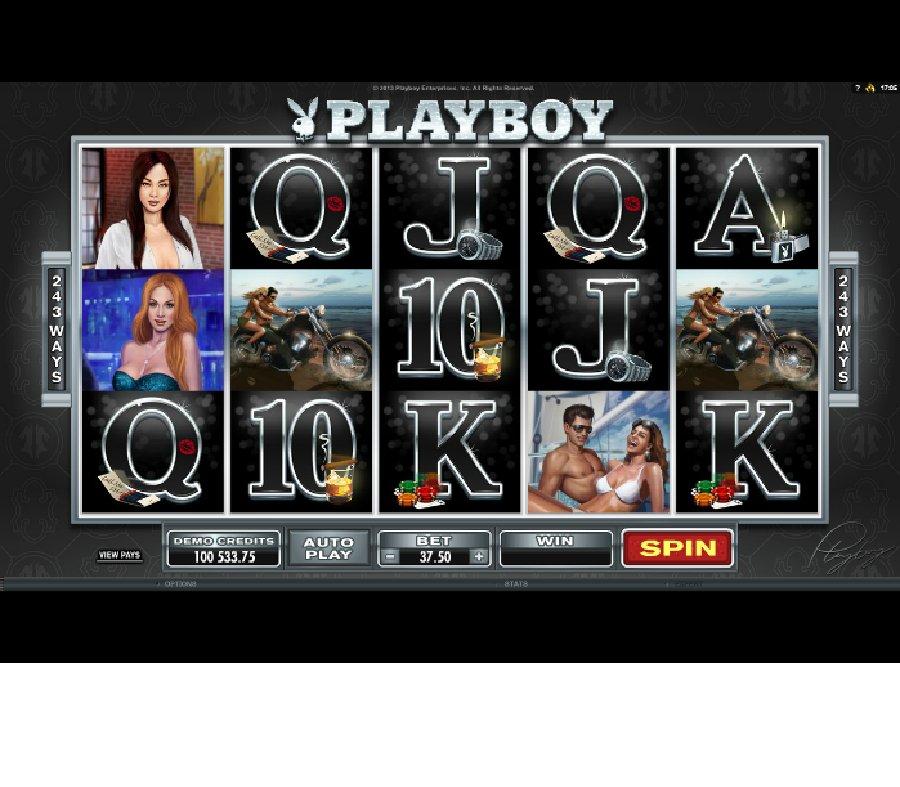 Hrací automaty Playboy
