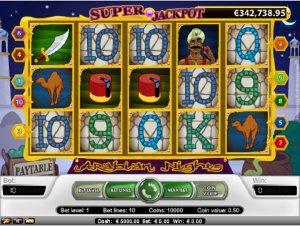 Hrací automaty Arabian Nights zdarma