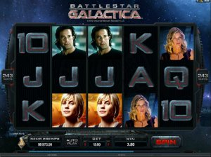Video slot Battlestar Galactica