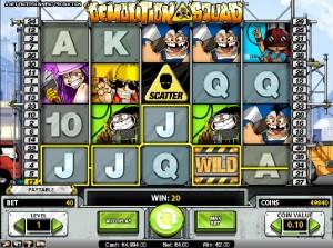 Hrací automaty Demolition Squad
