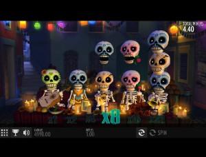 Hrací automaty Esqueleto Esplosivo