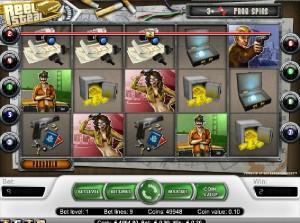 Hrací automaty Reel Steal