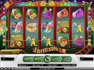 Hrací automaty Thrill Spin