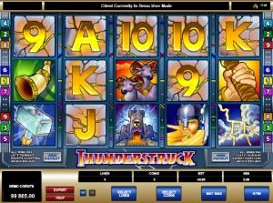 Hrací automaty Thunderstruck