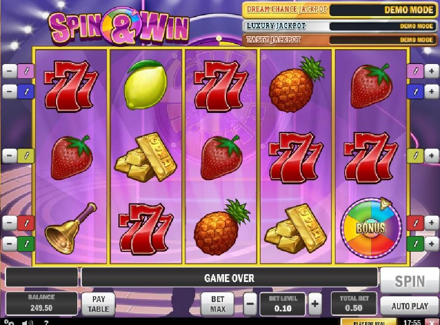 Hrací automaty Triple Bonus Spin´n Win