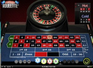 American Roulette online