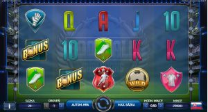 Football Champions Cup hrací automat