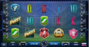 Football Champions Cup hrací automat